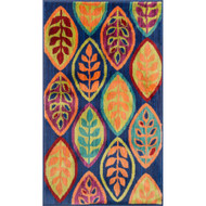 "Loloi Isabelle Rug  HIS04 Blue / Multi - 2'-2"" X 3'-9"""