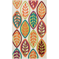 "Loloi Isabelle Rug  HIS04 Ivory / Multi - 1'-7"" X 2'-6"""