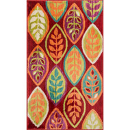 "Loloi Isabelle Rug  HIS04 Red / Multi - 2'-2"" X 5'"