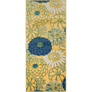 "Loloi Isabelle Rug  HIS05 Green / Multi - 2'-2"" X 5'"