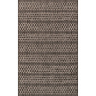 "Loloi Isle Rug  IE-01 Black / Grey - 5'-3"" X 7'-7"""