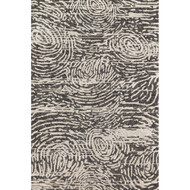 "Loloi Juneau Rug  JY-04 Charcoal / Silver - 5'-0"" x 7'-6"""