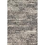 "Loloi Juneau Rug  JY-04 Charcoal / Silver - 7'-9"" x 9'-9"""