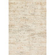 "Loloi Kingston Rug  KT-01 Cream / Multi - 7'-10"" X 7'-10"" Round"