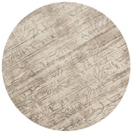 "Loloi Kingston Rug  KT-03 Neutral - 9'-3"" X 9'-3"" Round"