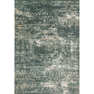 "Loloi Kingston Rug  KT-05 Storm - 2'-7"" x 12'-0"""