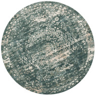 "Loloi Kingston Rug  KT-05 Storm - 9'-3"" X 9'-3"" Round"
