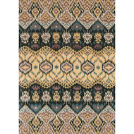 "Loloi Leyda Rug  LY-03 Black / Lt. Gold - 7'-10"" x 11'-0"""