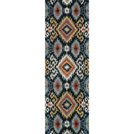 "Loloi Leyda Rug  LY-06 Midnight - 2'-6"" X 7'-6"""