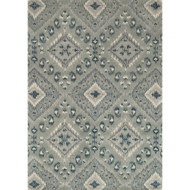 "Loloi Leyda Rug  LY-07 Grey / Denim - 7'-10"" x 11'-0"""