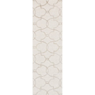 "Loloi Panache Rug  PC-04 Ivory / Silver - 2'-3"" x 7'-6"""