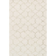 "Loloi Panache Rug  PC-04 Ivory / Silver - 5'-0"" x 7'-6"""