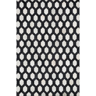 "Loloi Promenade Rug  PO-04 Ivory / Black - 5'-0"" x 7'-6"""