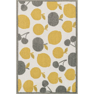 "Loloi Tilley Rug  HTI08 Ivory / Yellow - 2'-5"" X 3'-9"""