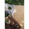 "Loloi Venice Beach Rug  VB-06 Ivory / Buttercup - 7'-10"" X 7'-10"" Round image 3"