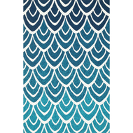 "Loloi Venice Beach Rug  VB-20 Blue / Multi - 2'-3"" x 3'-9"""