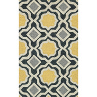 "Loloi Weston Rug  HWS01 Charcoal / Gold - 2'-3"" x 3'-9"""