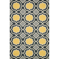 "Loloi Weston Rug  HWS01 Charcoal / Gold - 5'-0"" x 7'-6"""