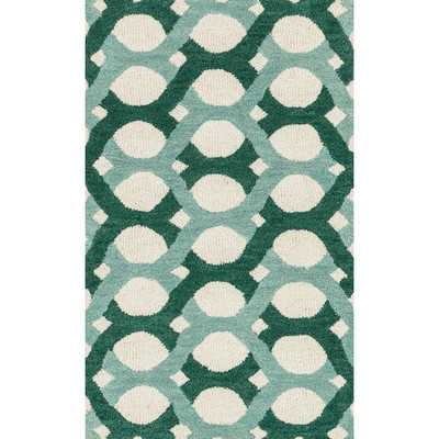 "Loloi Weston Rug  HWS04 Blue / Green - 2'-3"" x 3'-9"""