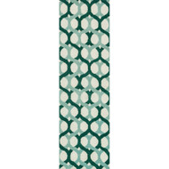 "Loloi Weston Rug  HWS04 Blue / Green - 2'-3"" x 7'-6"""