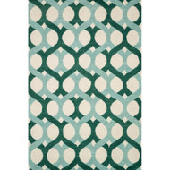 "Loloi Weston Rug  HWS04 Blue / Green - 5'-0"" x 7'-6"""
