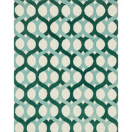 "Loloi Weston Rug  HWS04 Blue / Green - 7'-9"" x 9'-9"""