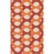 "Loloi Weston Rug  HWS04 Red / Orange - 2'-3"" x 3'-9"""