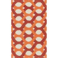 "Loloi Weston Rug  HWS04 Red / Orange - 2'-3"" x 3'-9"""