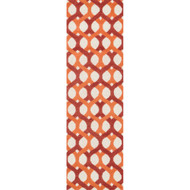 "Loloi Weston Rug  HWS04 Red / Orange - 2'-3"" x 7'-6"""