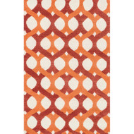 "Loloi Weston Rug  HWS04 Red / Orange - 3'-6"" x 5'-6"""