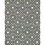 "Loloi Weston Rug  HWS07 Ivory / Black - 7'-9"" x 9'-9"""