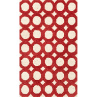 "Loloi Weston Rug  HWS08 Ivory / Red - 2'-3"" x 3'-9"""
