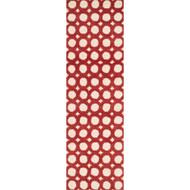 "Loloi Weston Rug  HWS08 Ivory / Red - 2'-3"" x 7'-6"""