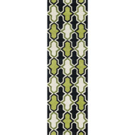 "Loloi Weston Rug  HWS10 Lime / Charcoal - 2'-3"" x 7'-6"""