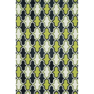 "Loloi Weston Rug  HWS10 Lime / Charcoal - 5'-0"" x 7'-6"""