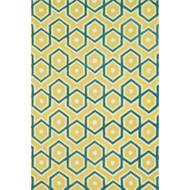 "Loloi Weston Rug  HWS11 Lemon / Aqua - 2'-3"" x 3'-9"""
