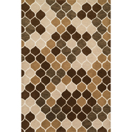 "Loloi Weston Rug  HWS15 Neutral / Brown - 5'-0"" x 7'-6"""