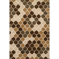 "Loloi Weston Rug  HWS15 Neutral / Brown - 7'-9"" x 9'-9"""
