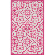 "Loloi Zoey Rug  HZO01 Pink - 2'-0"" x 3'-0"""