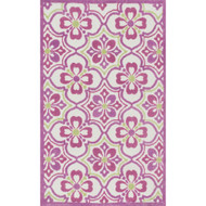 "Loloi Zoey Rug  HZO01 Purple / Green - 3'-0"" x 5'-0"""