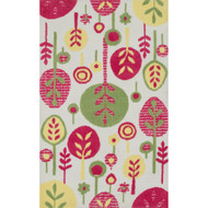 "Loloi Zoey Rug  HZO03 Pink / Multi - 5'-0"" x 7'-0"""