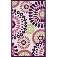 "Loloi Zoey Rug  HZO06 Purple / Multi - 2'-0"" x 3'-0"""