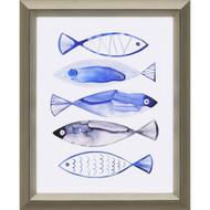 Paragon Retro Watercolour Fish