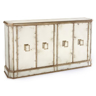 John Richard Juno Foxed Mirror Credenza
