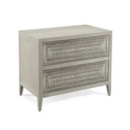 John Richard Cosmos Two-Drawer Nightstand