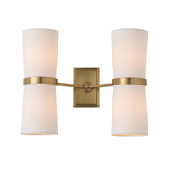 Inwood Sconce - Antique Brass