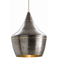 Mason Small Pendant - Dark Natural Iron