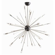 Imogene Large Chandelier - Polished Nickel