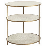 Percy Side Table - Antique Brass