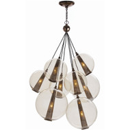Caviar Adjustable Large Cluster - Brown Nickel